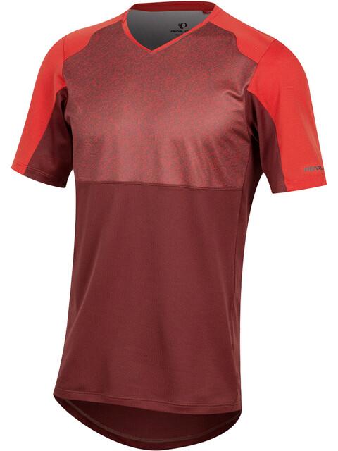 PEARL iZUMi Launch Fietsshirt korte mouwen Heren rood